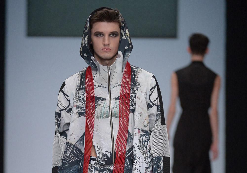 Показ B&D на неделя моды в Москве