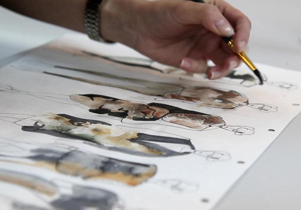 эскиз дизайн одежды