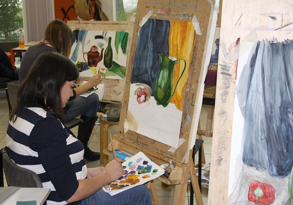 подготовительные курсы по рисунку