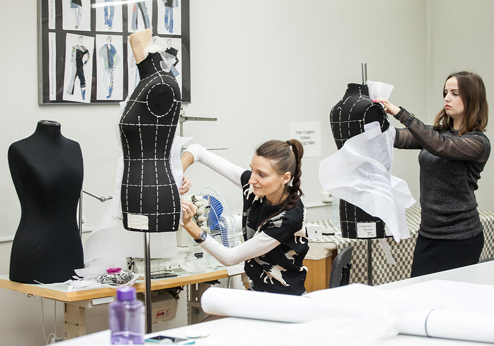 Дизайн одежды. учеба