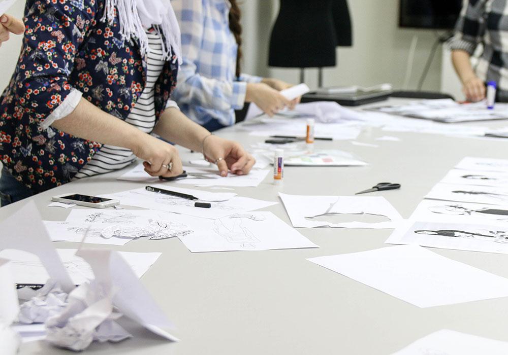 дизайн одежды начальные навыки