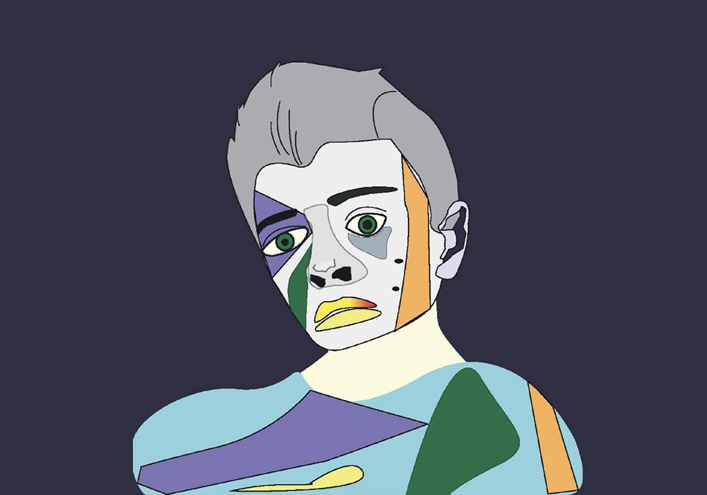 Дизайнерский портрет