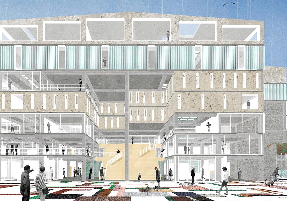 проектирование торговых площадей