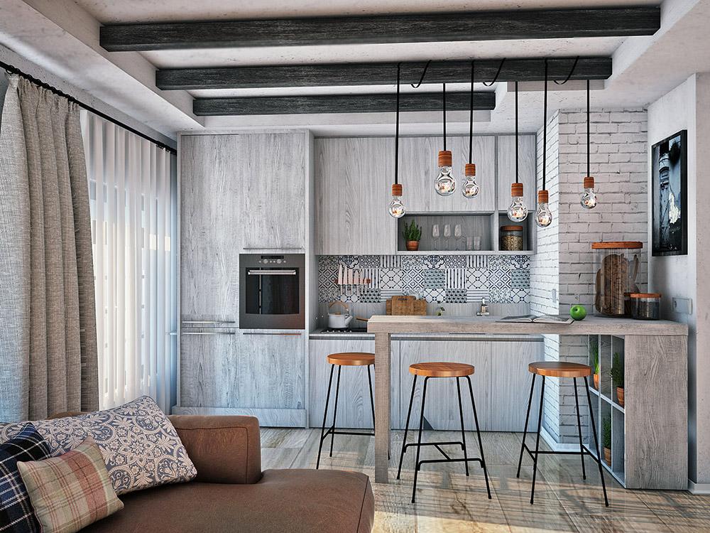 проектирование жилых интерьеров