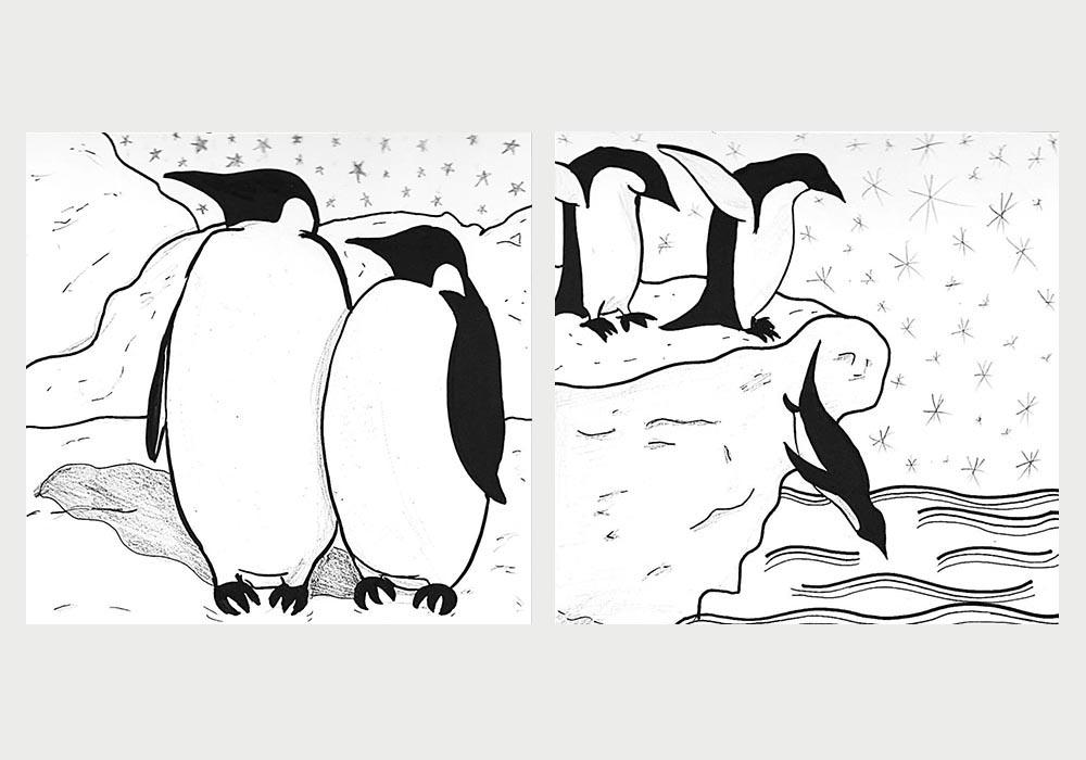 киндер-пингви